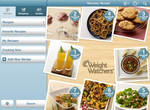 weight watchers kitchen companion app