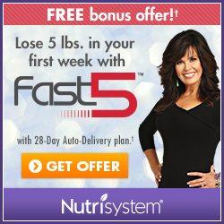 nutrisystem discount codes